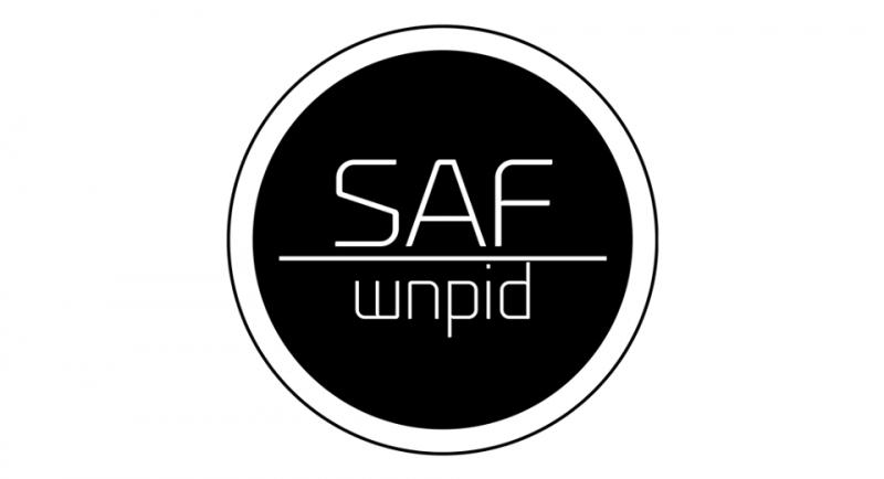 Logo SAF - Studencka Agencja Fotograficzna WNPiD UAM