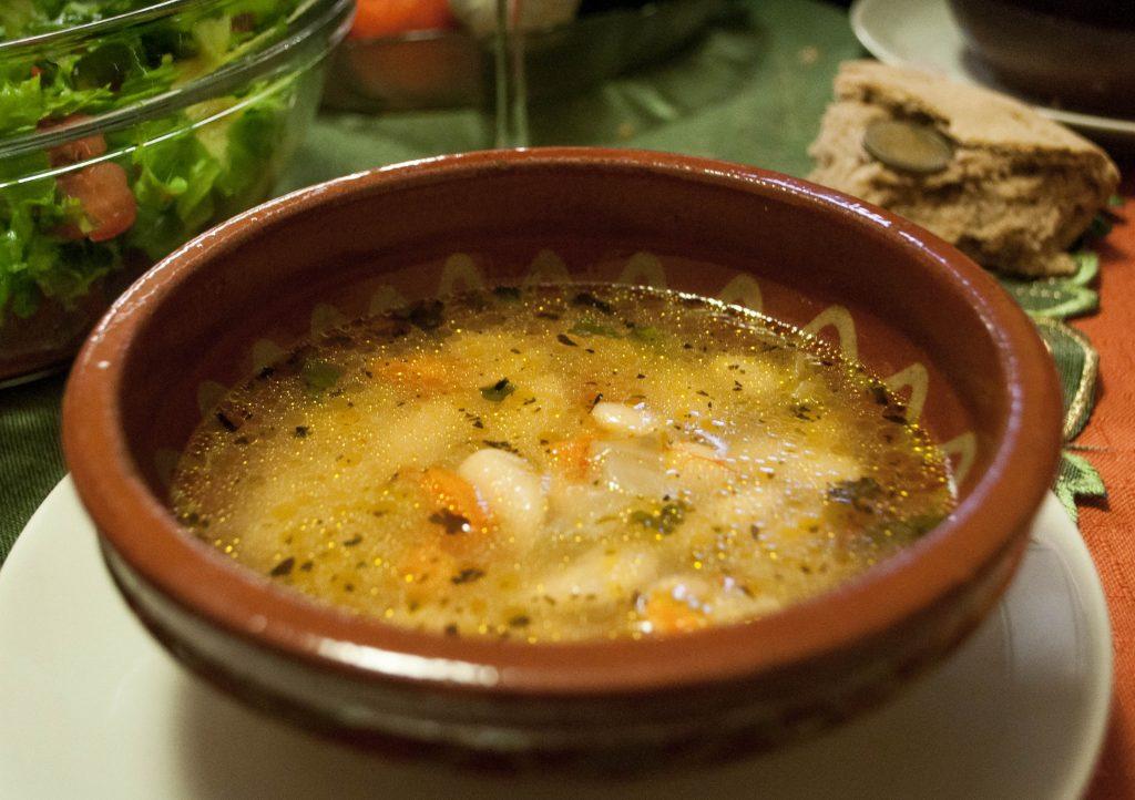bułgarska wigilia - zupa z białej fasoli