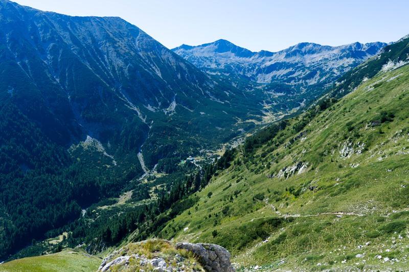 Konczeto pionowa grań w górach Piryn3 - Konczeto - pionowa grań w górach Piryn