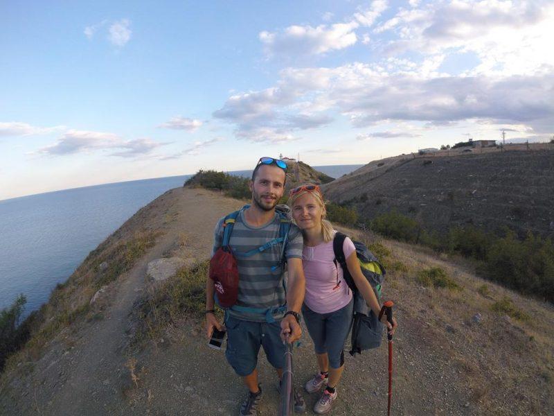 Trekking przez całą Bułgarię - przylądek Emine